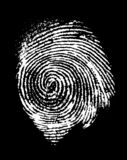 Thumbprint Photo libre de droits