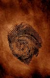 Thumbprint Stock Photo