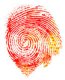 Thumbprint Royalty Free Stock Image