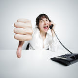 Thumbs down Stock Images