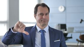 Thumbs Down by Businessman. The Thumbs Down by Businessman, high quality stock footage