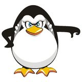 Thumbs down Penguin stock photography