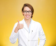 Thumbs healthcare professional Royalty Free Stock Photos