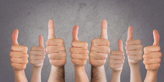 Thumbs Stock Photography