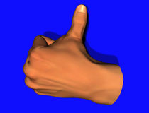 Thumbs-up Stock Photo