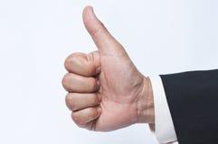 Thumbs up! Stock Photo