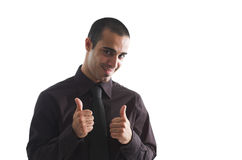 Thumbs up! Stock Photo