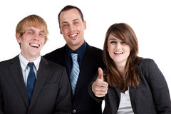 Thumbs Up! Royalty Free Stock Photography