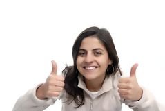 Thumbs up Stock Image