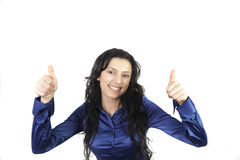Thumbs UP !! Stock Image