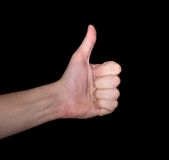 Thumbs-Up Fotos de Stock Royalty Free