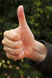 Thumbs-Up Royalty Free Stock Images
