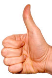 Thumbs up. Royalty Free Stock Images