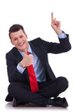 Thumbs up for that! Royalty Free Stock Photos