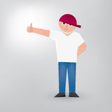 Thumbs_up illustration de vecteur