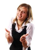 Thumbs up ! royalty free stock images