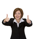 Thumbs-up Stock Image