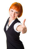 Thumbs up! Stock Images