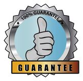 Thumbs up approval icon Royalty Free Stock Image