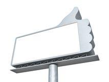 Thumbs up billboard Royalty Free Stock Photos