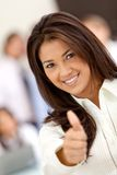 Thumbs up - Business Royalty Free Stock Photo