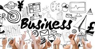 Thumbs up business Stock Photos