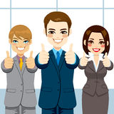 Thumbs Up Business People Stock Photos