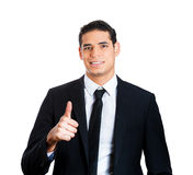 Thumbs up businessperson Royalty Free Stock Photo