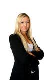 Thumbs up businesswoman Stock Photos