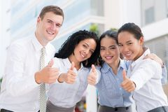 Thumbs-up Royalty Free Stock Photos