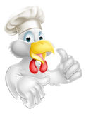 Thumbs Up Chicken Chef Royalty Free Stock Images