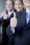 Thumbs-up d'affaires Image libre de droits