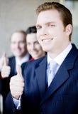 Thumbs-up di affari Immagine Stock Libera da Diritti