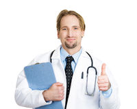 Thumbs up doctor Royalty Free Stock Photo