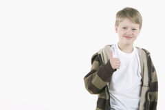 Thumbs up dude Royalty Free Stock Photography