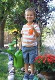 Thumbs Up Gardening stock image