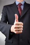 Thumbs up gesture Royalty Free Stock Images