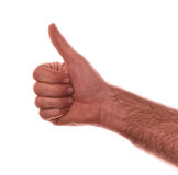 Thumbs up good Stock Photography
