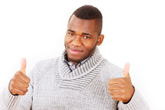 Thumbs up guy Royalty Free Stock Photo