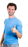 Thumbs up guy Stock Photo
