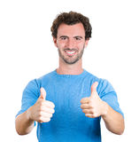 Thumbs up guy Stock Images