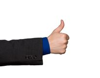Thumbs up hand sign Royalty Free Stock Photo