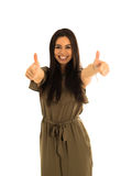 Thumbs up Royalty Free Stock Photography