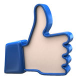 Thumbs up icon Stock Photos