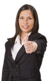 Thumbs-up,left hand Royalty Free Stock Image
