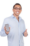 Thumbs up man Royalty Free Stock Photo
