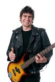 Thumbs Up Musician stock images