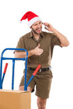 Thumbs Up Santa Royalty Free Stock Photos