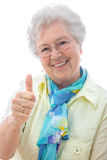 Thumbs up sign Royalty Free Stock Image