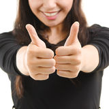Thumbs up sign Royalty Free Stock Images